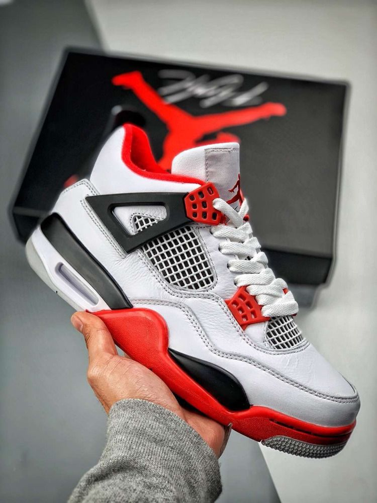 2dd416df84677 Nike Air Jordan 4 Retro Fire Red - 308497-110 | Jordans in 2019 ...