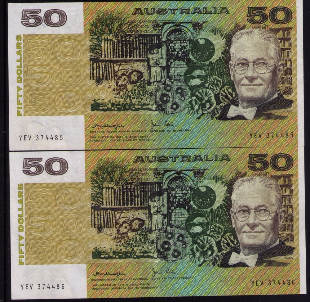 AUSTRALIA $10 BANKNOTE Coombs Randall CIRC VERY WORN MANY CREASES SMALL TEARS
