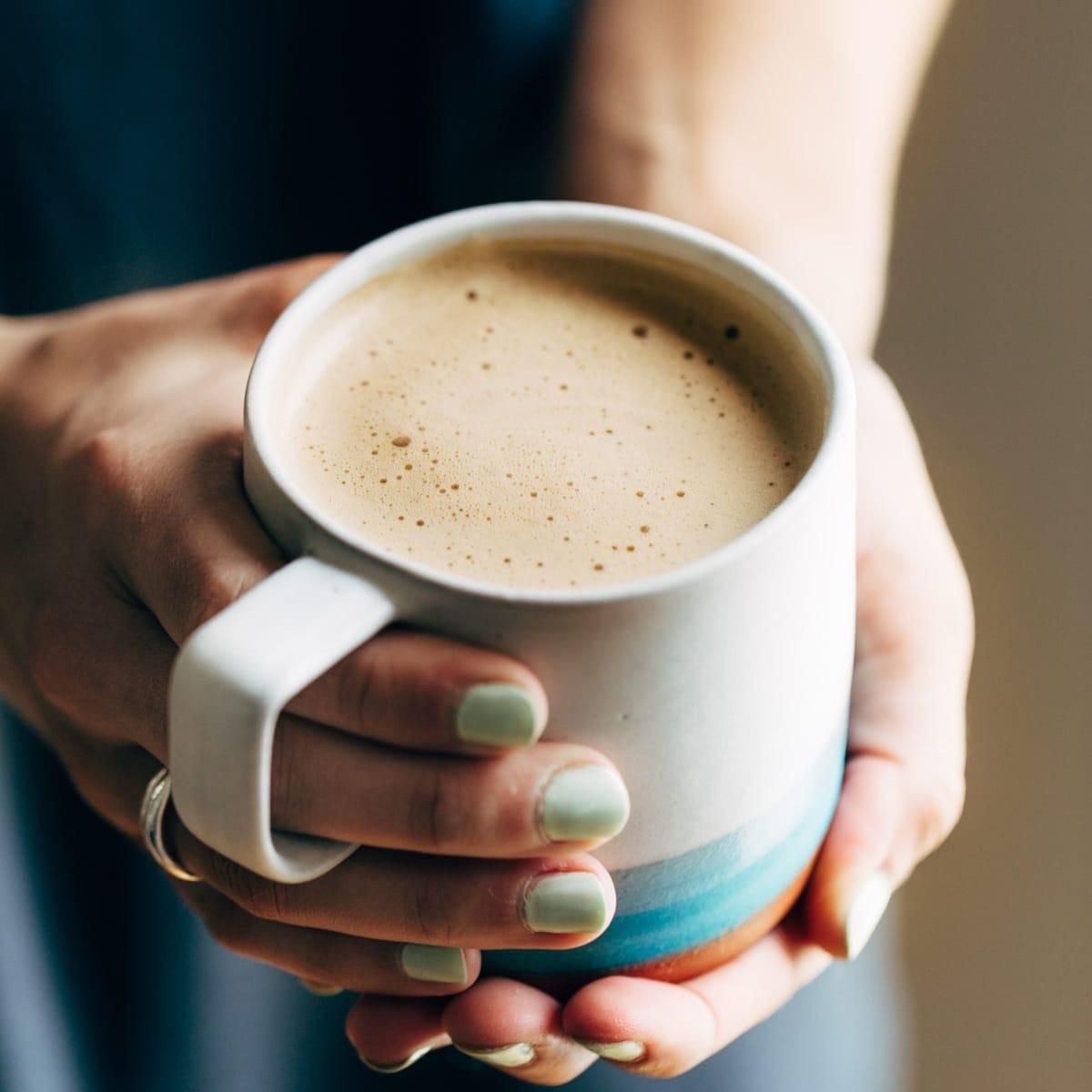 I have to share this here. Vegan friendly cashew coffee