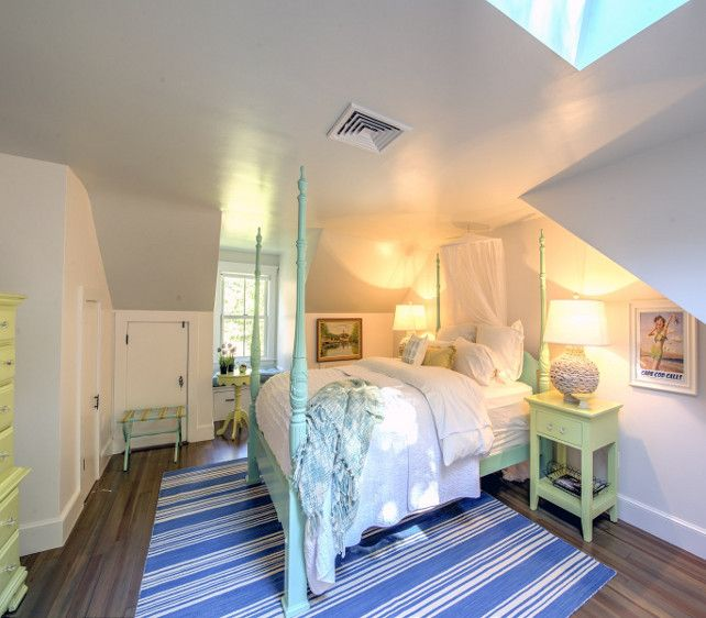 Shingle Cape Cod Home With Blue Kitchen Ceiling The