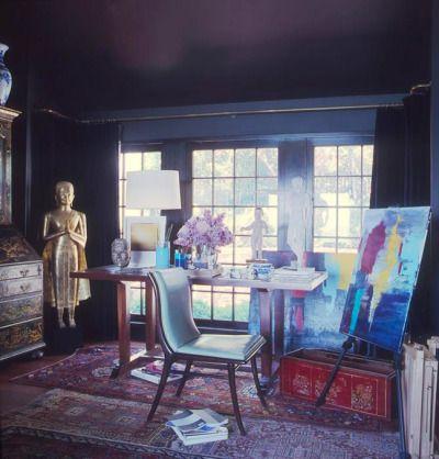 Vincente Wolf's studio  Joy in Many Colors Keka❤❤❤