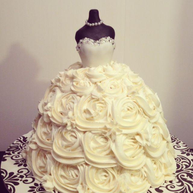 Wedding Dress Bridal Shower Cakes | Wedding Shower | Pinterest ...