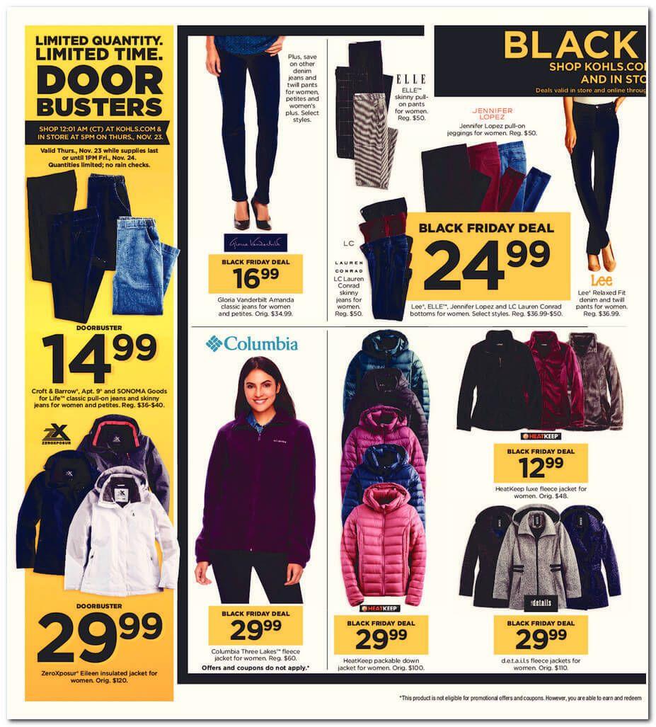 Kohl S Black Friday 2017 Ad Page 48 Kohls Black Friday Black Friday Kohls