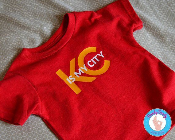 premium selection 79761 0720f KC Is My City - KC Chiefs Kids Shirt - Baby Onesie - Toddler ...