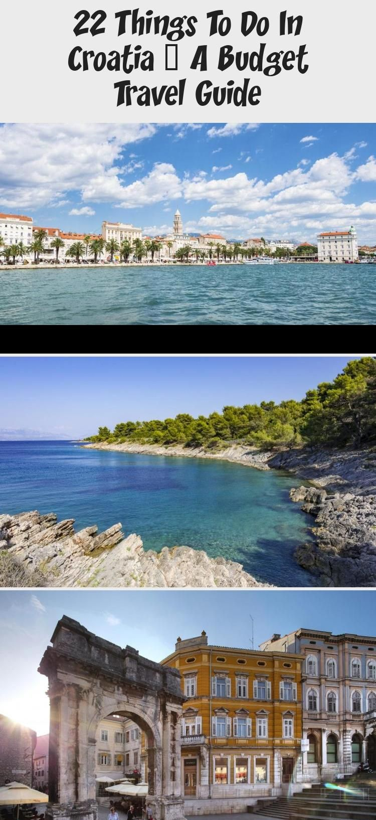 Croatia Travel The Best Places To Visit In Croatia On A Budget Dubrovnik Split Zagreb And More Awesome Destina In 2020 Family Travel Travel Cool Places To Visit