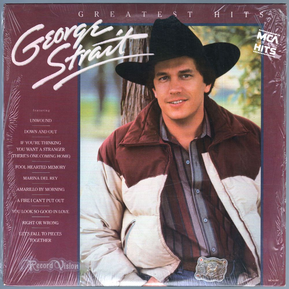 Greatest Hits Country Music Singer George Strait S