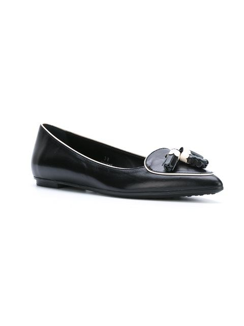 0e76d1ef4f Tod's 'Gomma WW' ballerinas | Fabulous Flats in 2019 | Shoes ...