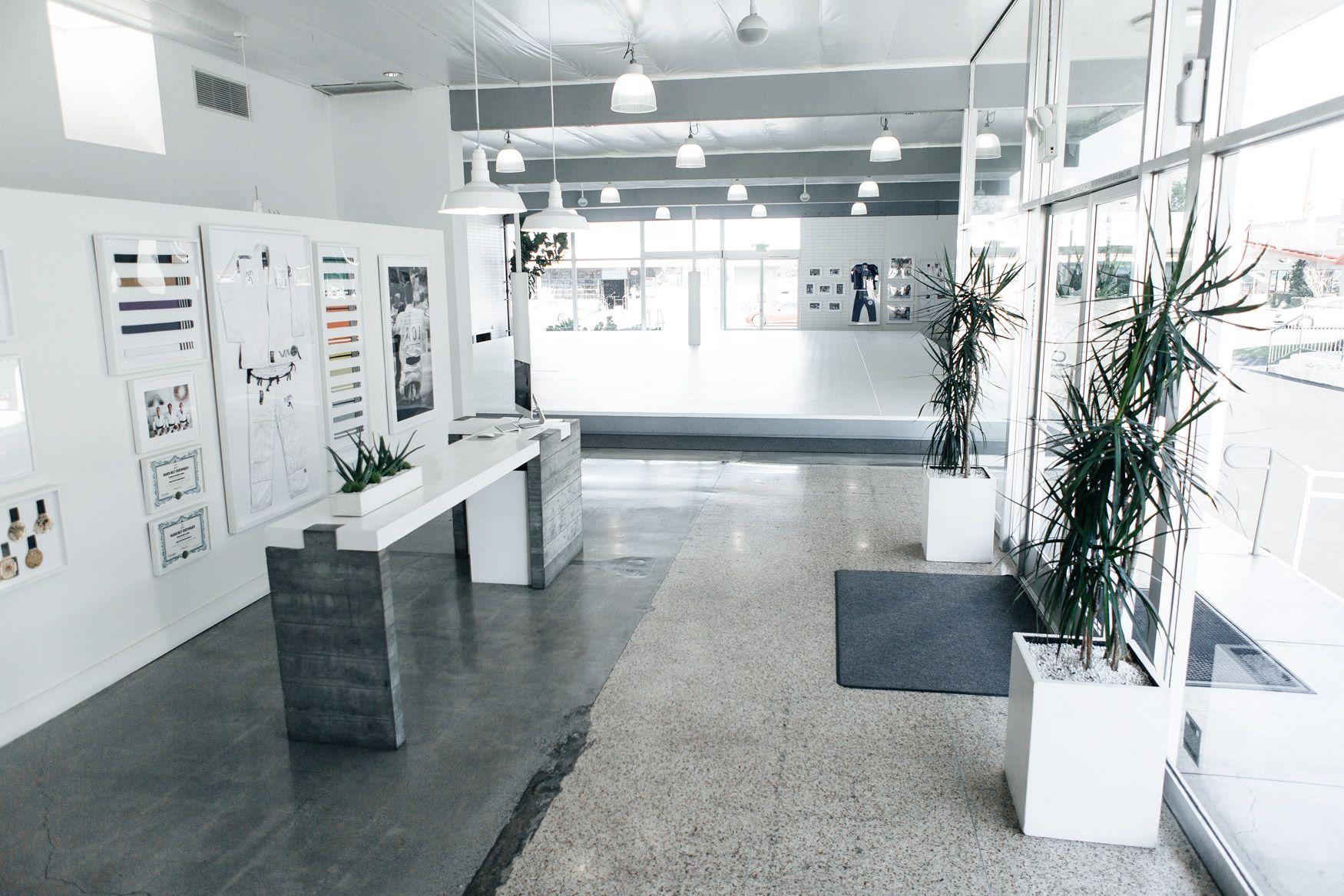Art of jiu jitsu facility dojo design gym interior gym