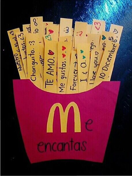 Pin de agfl en tarjetas valentines day gifts for friends - Cosas originales para casa ...