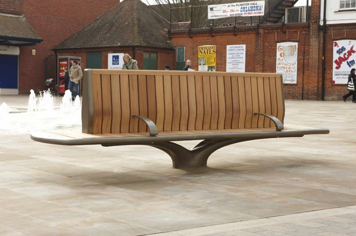 The Design Incorporated Fsc 174 Timber Slats And Back Rest