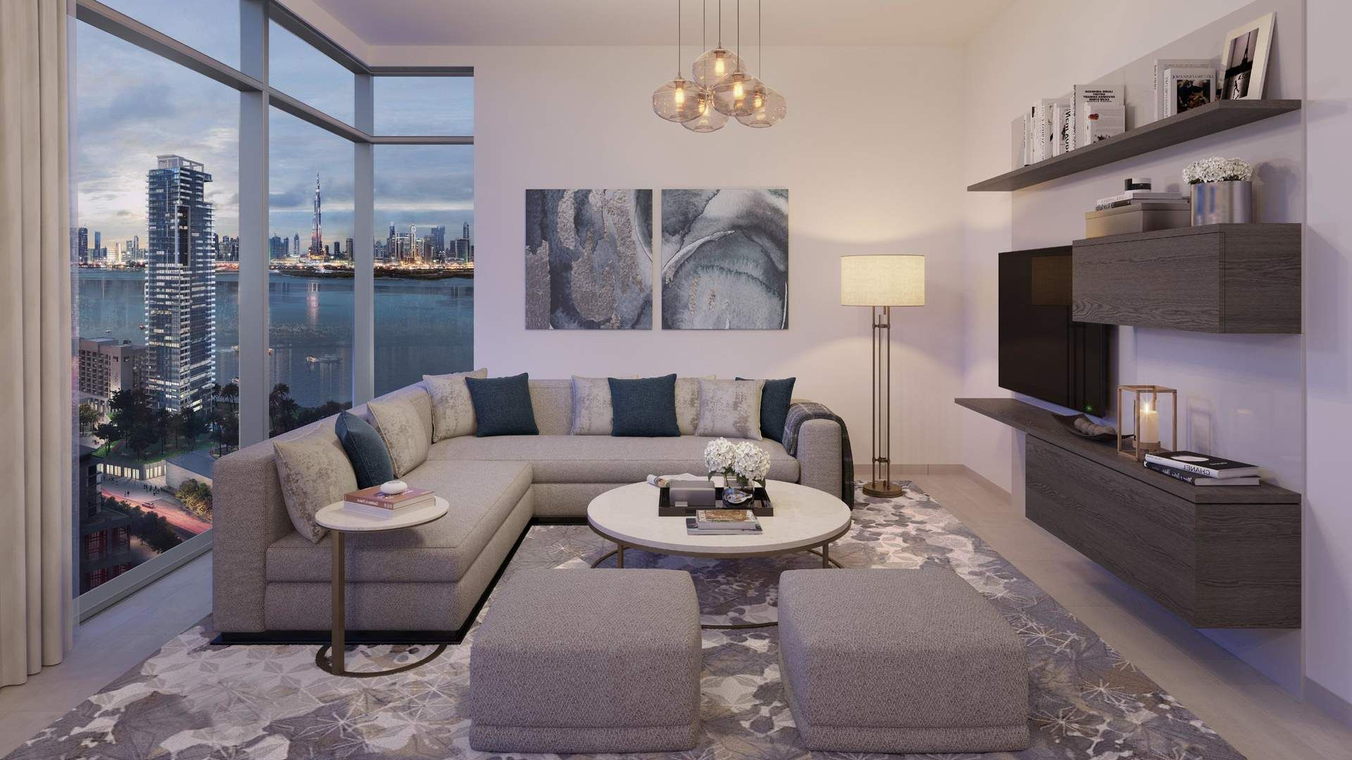 Stunning Apartment At Creek Rise Dubai Apartment