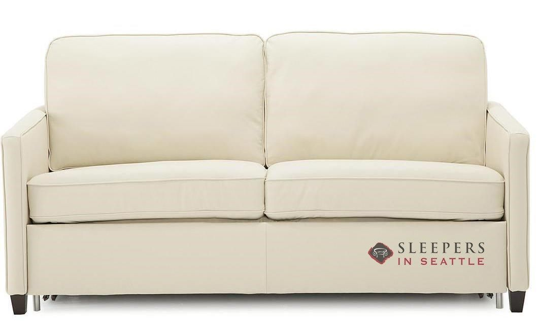 Palliser California CloudZ Top-Grain Leather Full Sleeper ...