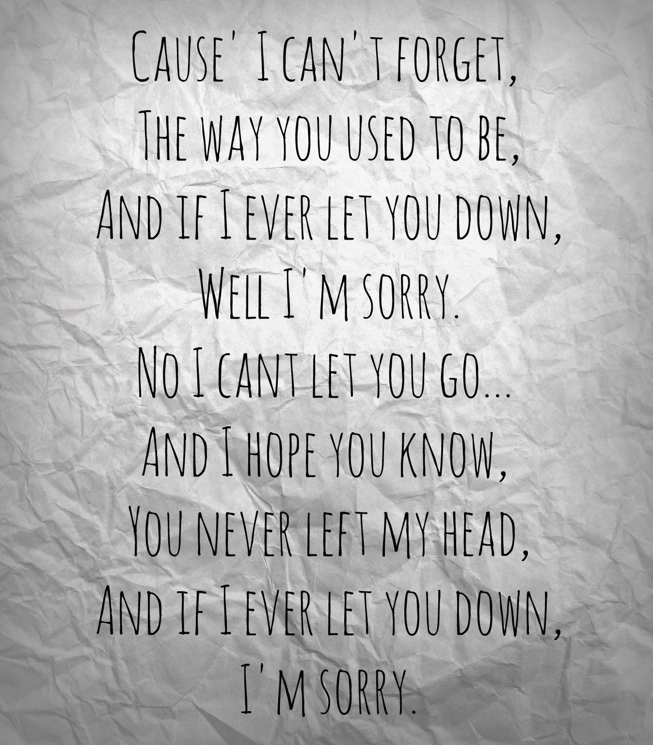 Sorry Lyrics Sleeping With Sirens