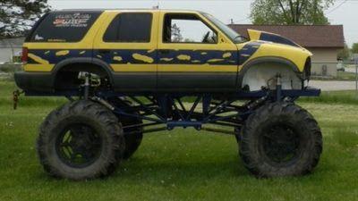 S 10 Blazer Mega Truck For Sale In Michigan Mud Trucks For Sale