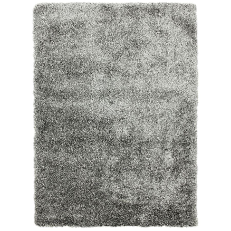 Carpet Art Deco Fusion Gray Rectangular Indoor Tufted Area Rug Common 8 X 10