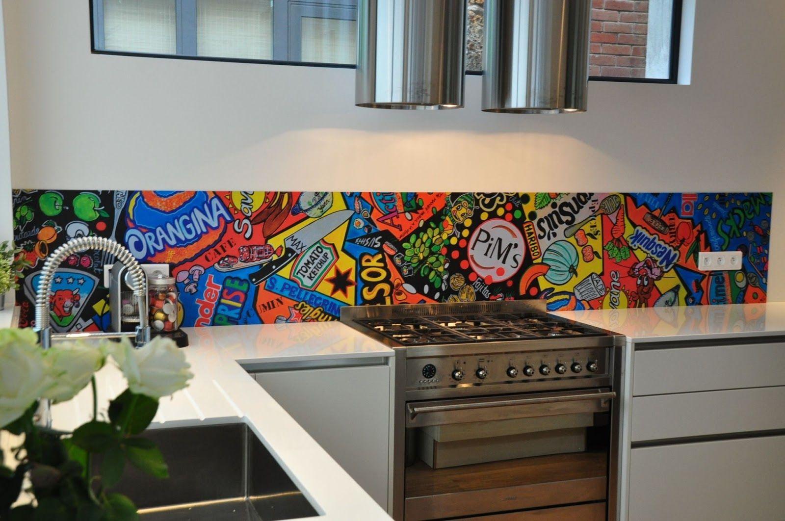 crédence cuisine colorée - Recherche Google (avec images