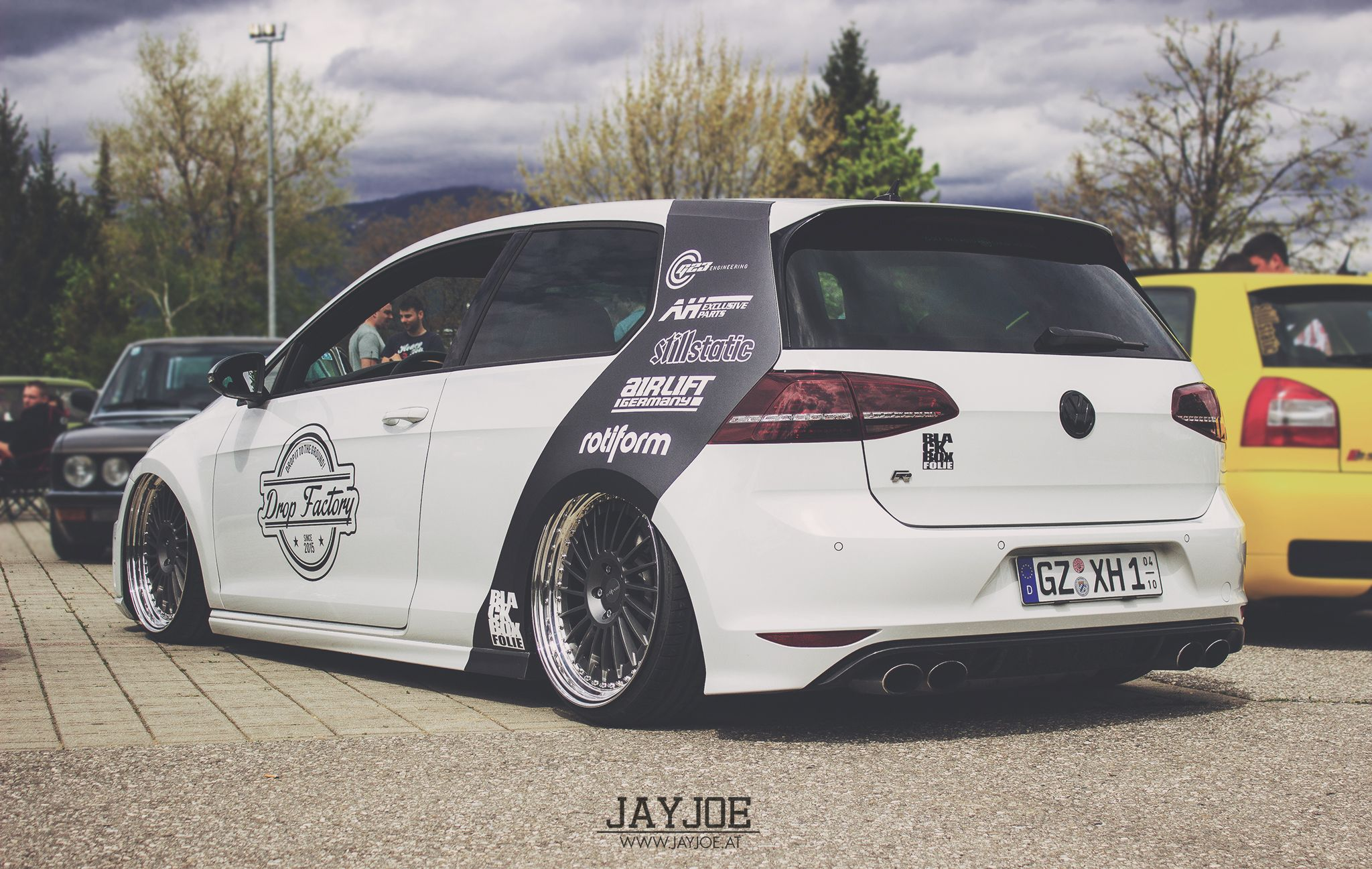 Wsee Tour 2015 Vw Golf Mk7 R Wwwjayjoeat Volkswagen Golf