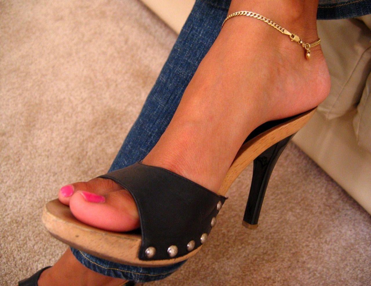 You porn high heels