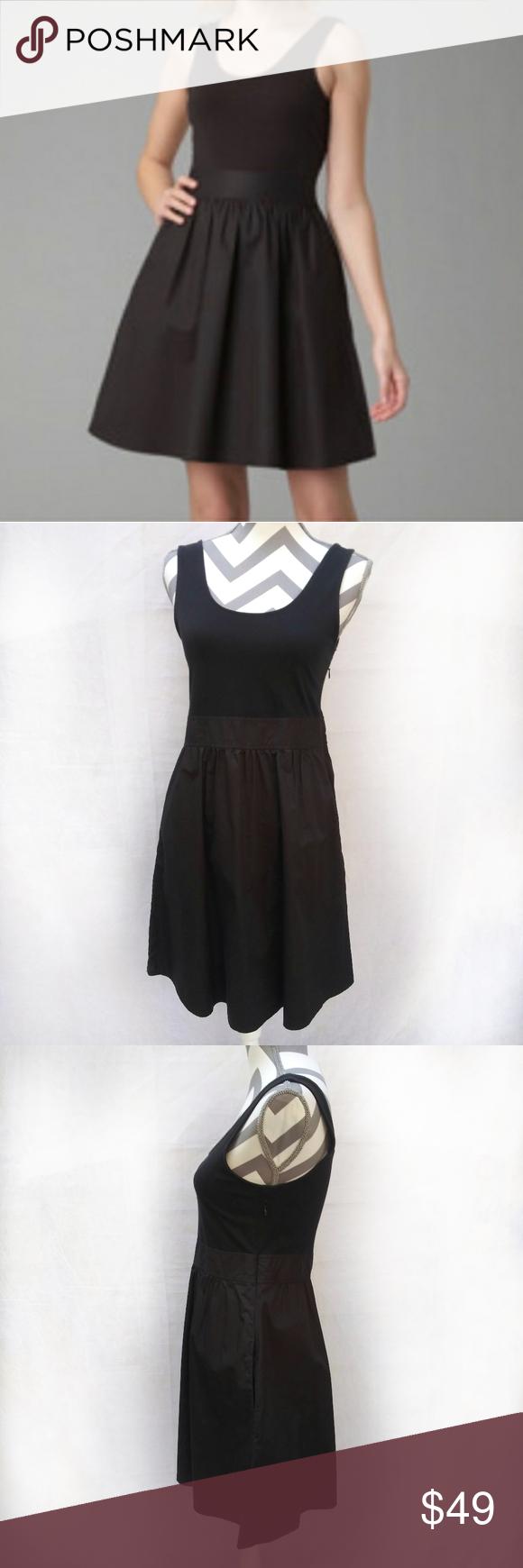 Theory Boa Little Black Dress With Pockets 8 Mixed Media Black Dress With Pockets By Theory Top Is Black Dress With Pockets Little Black Dress Lbd Black Dress [ 1740 x 580 Pixel ]