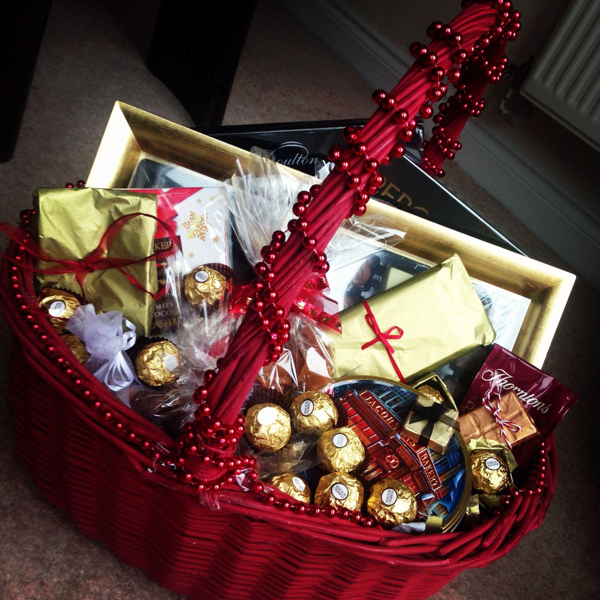 Chocolate Hamper Chocolate hampers, Christmas chocolate