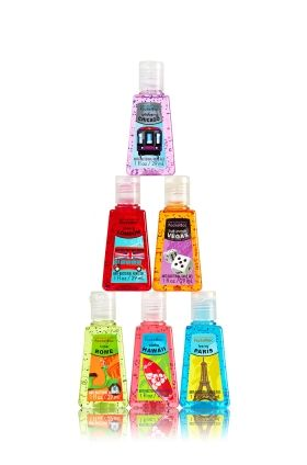 Ready Jet Set Go Bundle 6 Pack Pocketbac Sanitizers Anti
