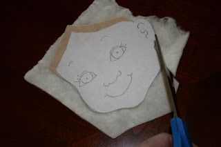 How to make faces for quilts. Buzzing and Bumbling: Making Faces Tutorial