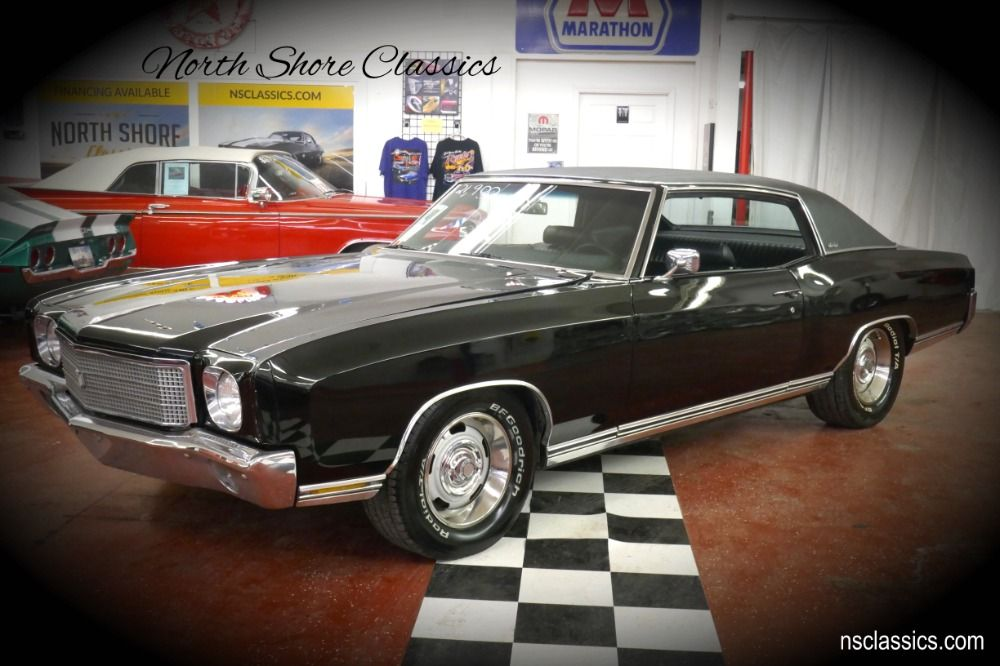 Used 1970 Chevrolet Monte Carlo Triple Black Restored Condition