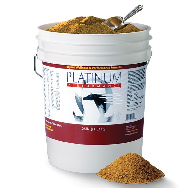 Platinum Performance® Equine is a comprehensive foundation supplement for all horses. Platinum Performance® addresses equine health at the cellular level, providing a special blend of Omega-3 Fatty Acids, Trace Minerals, Vitamins, Amino Acids and Antioxidants that support the fundamental health of each of your horse's 12 trillion cells.