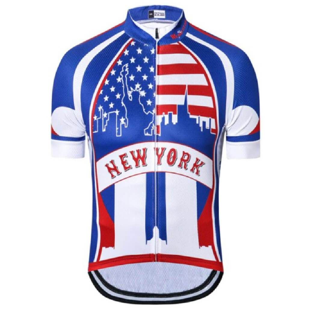 23 Stunning NY Cycling Jersey Men   S