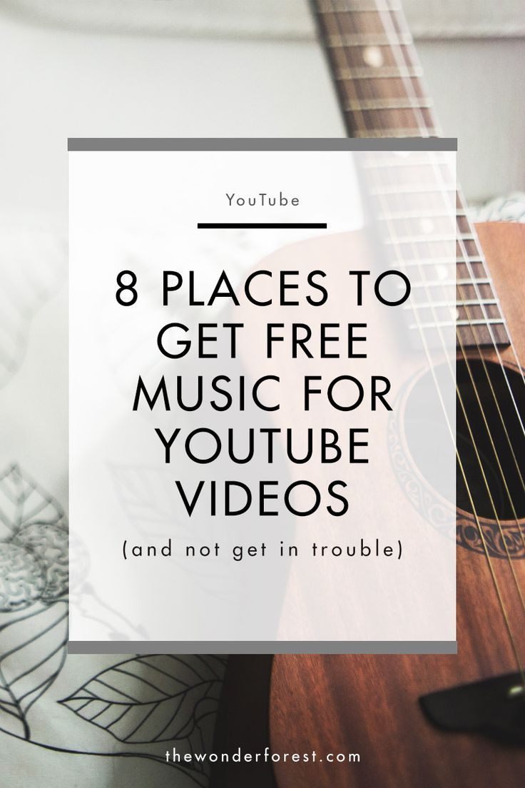 8 Places to Get Royalty Free Music for YouTube Videos