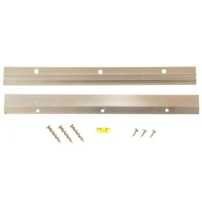 French Cleat Picture Hanger With Wall Dog Mounting Screws