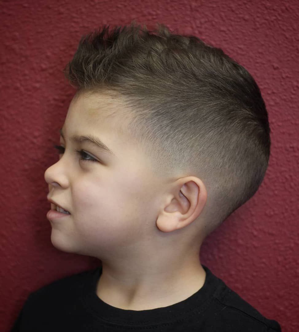 Pin On Cute Little Boy Haircuts