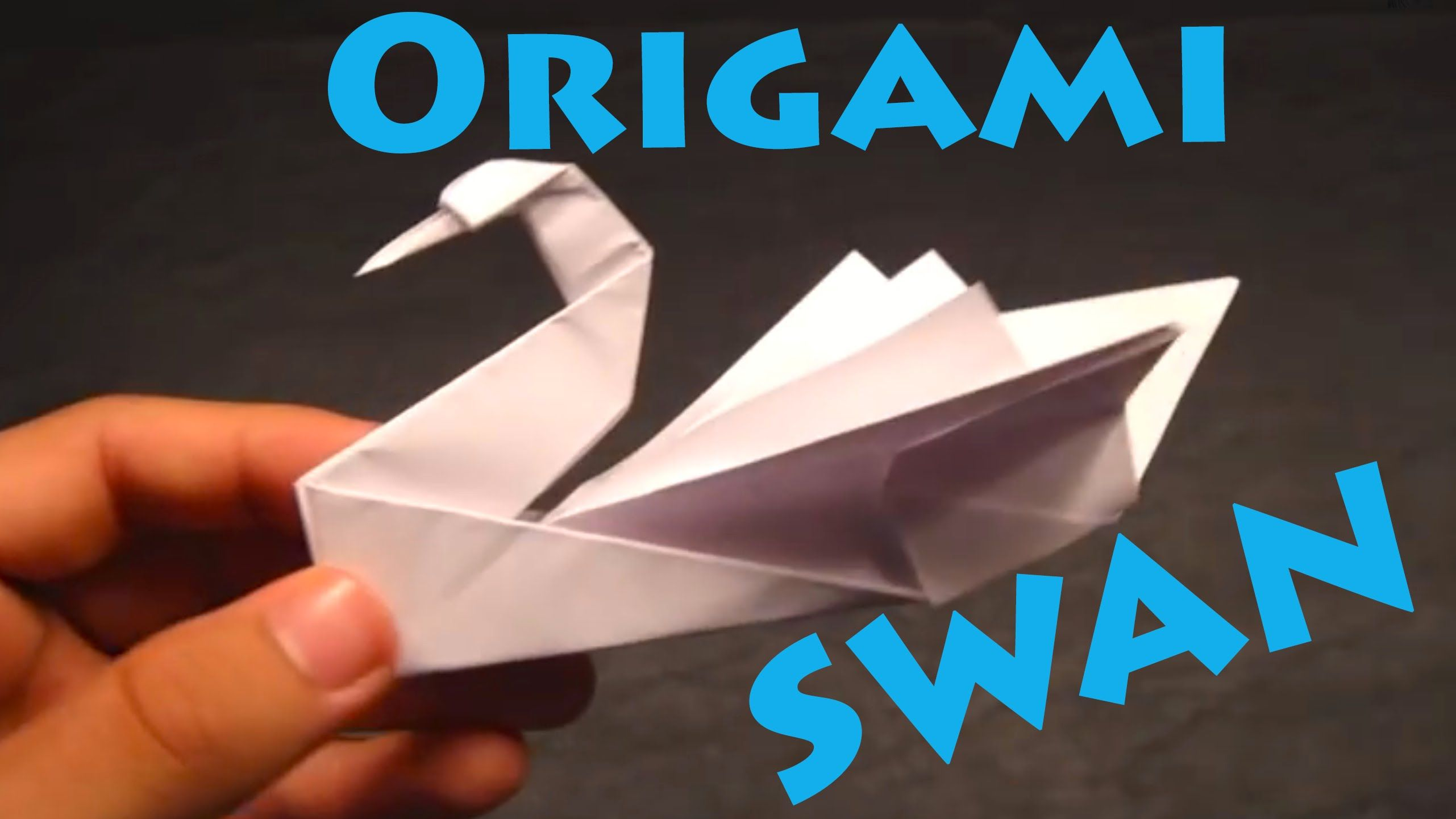love to make one. How to Make an Origami Swan ... - photo#9