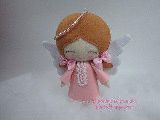 Anjinhas para a Catarina   Lembrancinhas da 1ª comunhão da C…   Flickr