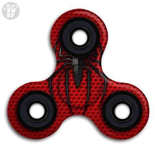 Spider Man Logo EDC Tri Fid Spinner Hand Spinner Finger Spinner