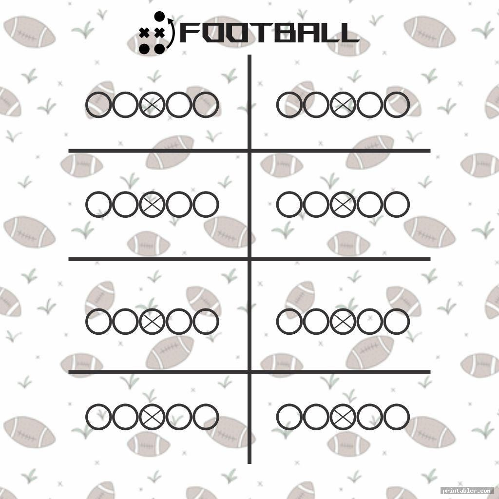 blank football playbook sheets printable image free