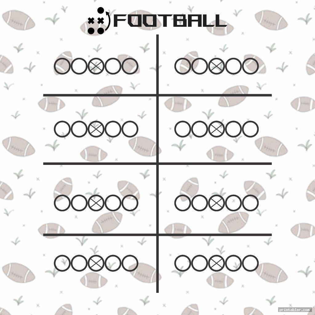 Blank Football Playbook Sheets Printable Image Free Printabler Com Football Field Football Template Templates Printable Free