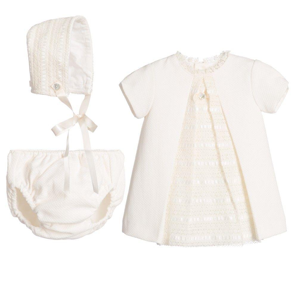 a7a8c4a702a5fa Baby Girls Ivory Dress