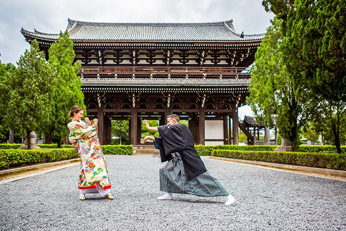 Happy Wedding Photo Iro Uchikake Wedding Kimono Plan Kyoto Happy Wedding Wedding Kimono Wedding Photos