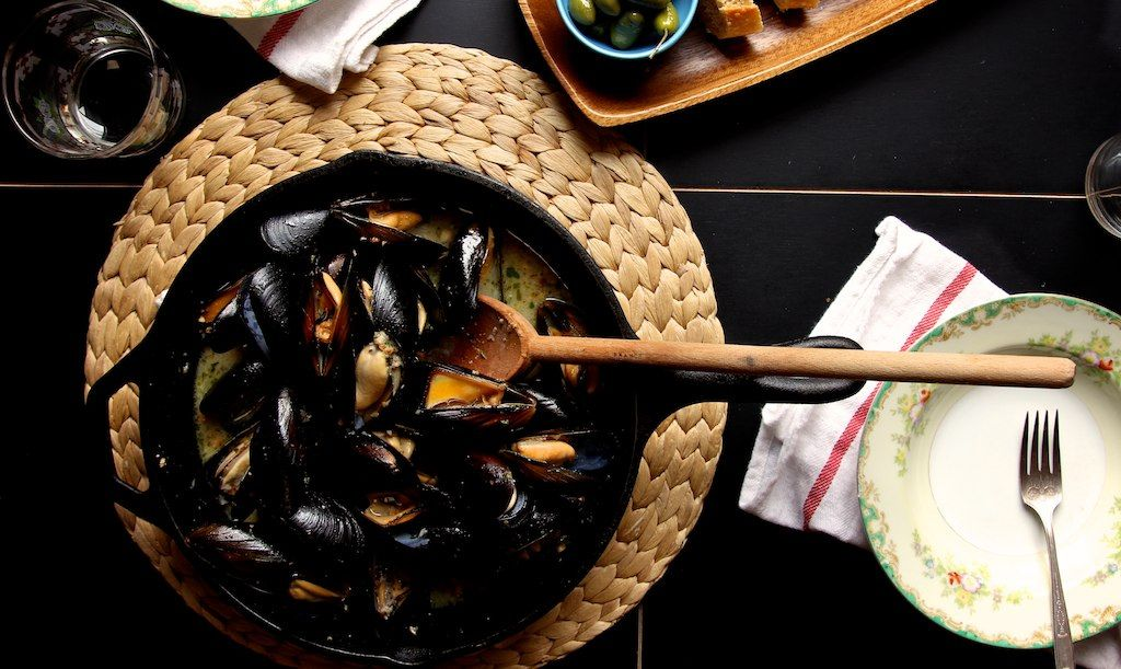 """maine mussels"" by joy the baker on Flickr - Maine Mussels are supposed to be very tasty!"