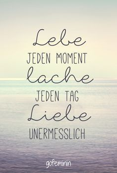 All the little magic moments: things that just make us happy ♥ Still mesprüchehr wise sayings and quotes you can find here: www.gofeminin.de / …