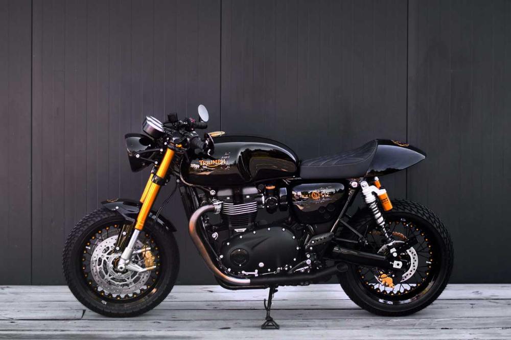 GP Design Diva R1200S | Return of the Cafe Racers