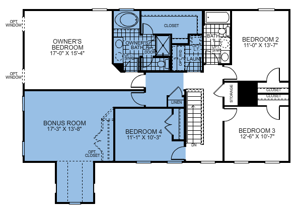 Ryan Homes Ravenna Reverse Floor Plan Floor Plans Ryan Homes House Floor Plans