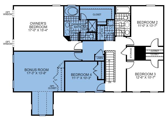 Ryan homes floor plans gurus floor for Reverse floor plan