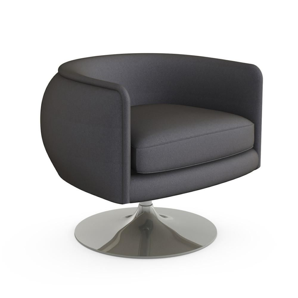 Knoll D'Urso Swivel Lounge Chair Swivel chair, Chair