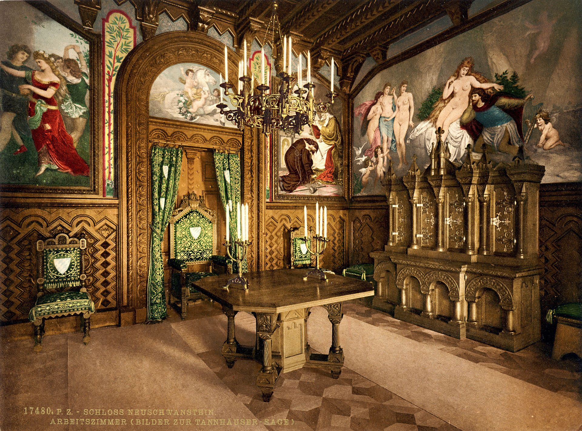 Neuschwanstein Castle Wikipedia Neuschwanstein Castle Germany Castles Castle Rooms