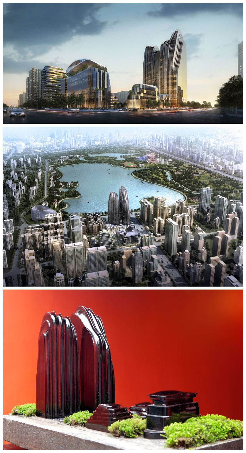 ma yansong reveals beijing chaoyang park project