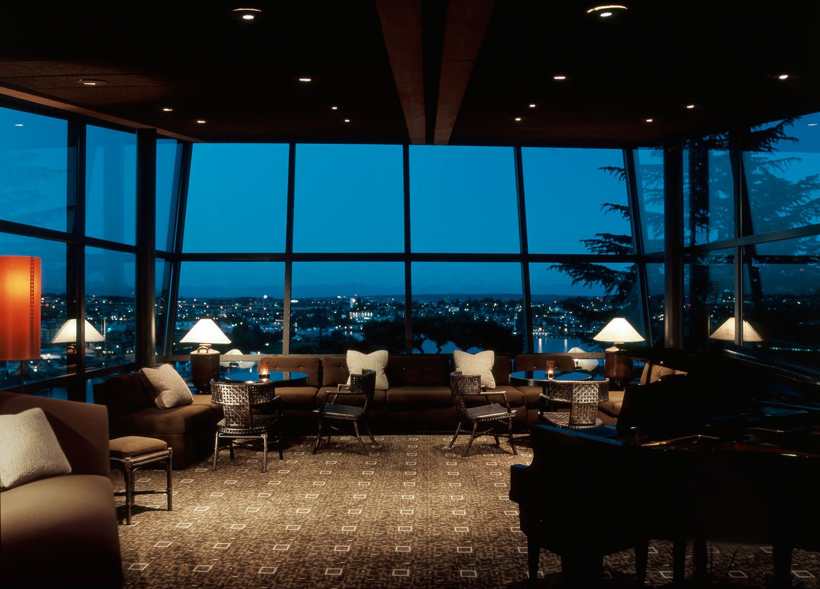 Doug rasar interior design llc canlis restaurant - Restaurant interior design seattle ...