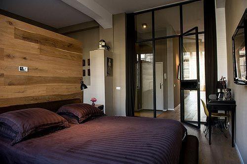 Slaapkamer met badkamer Amsterdamse loft | Slaapkamer | Pinterest ...