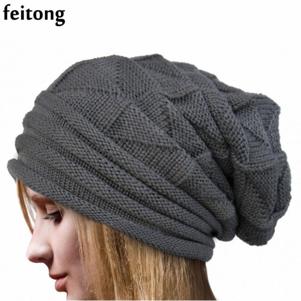 Feitong fashion bonnet femme women hat winter hat female winter